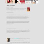 exemplu de pagina web pentru vanzarea cosmeticelor