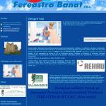 Exemplu de pagina www pentru producator de ferestre