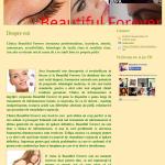 Clinică de înfrumusețare - exemplu de pagină www